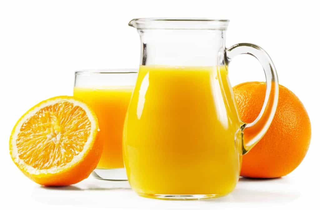 can you freeze orange juics