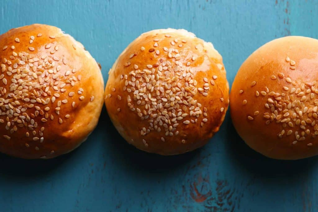 freeze hamburger buns